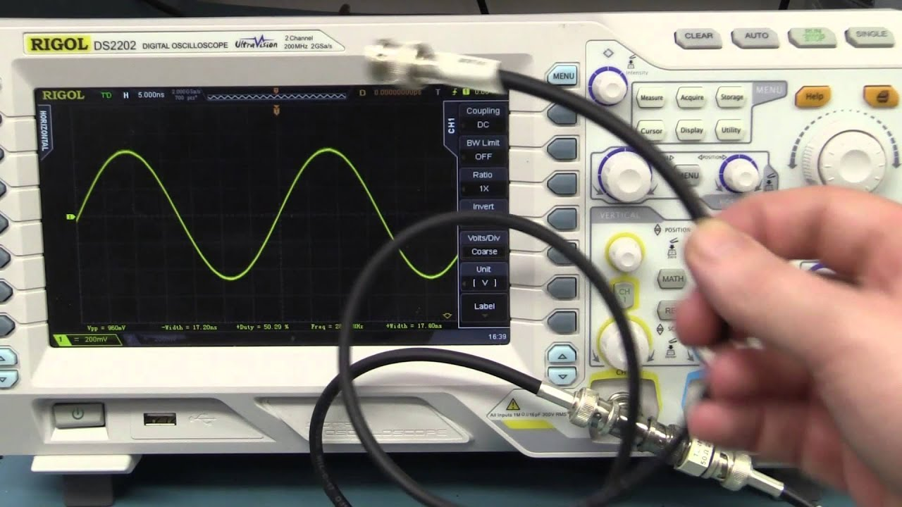 Function Generator And Oscilloscope : Eev oscilloscope function generator