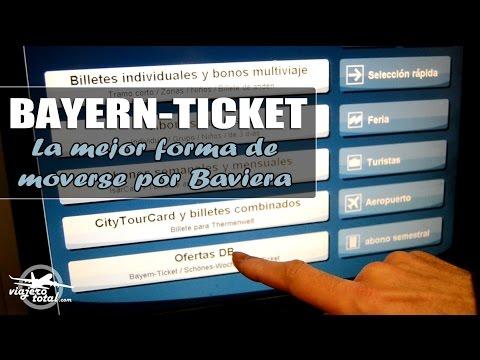Bayern-Ticket, La Mejor Forma De Moverse Por Baviera (Munich)