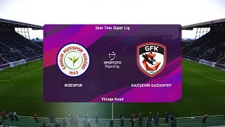 PES 2020   Rizespor vs Gaziantep - Turkey Super Lig   22 September 2019   Full Gameplay HD