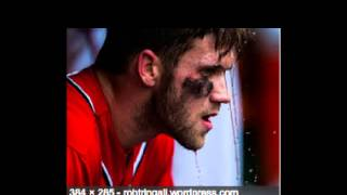 Bryce Harper Slideshow with pics from 2011 2014 and 2015 plus credits and cast of movie