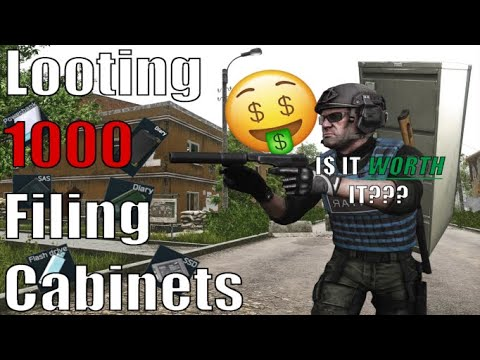 Are Filing Cabinets Worth Looting in Escape From Tarkov Looting 1000 Filing Cabinets to find out