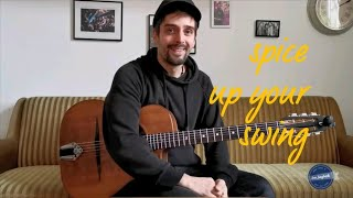 How to play gypsy jazz rhythm guitar