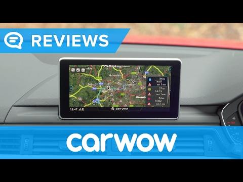 Audi A4 Avant Estate 2017 Virtual Cockpit infotainment and interior review | Mat Watson Reviews