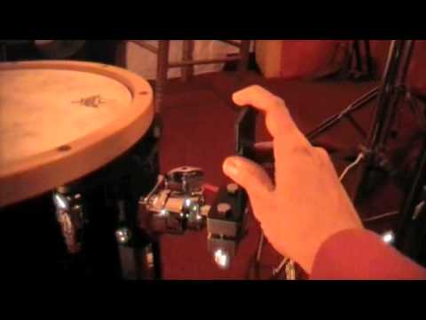 your floor tom into a bass drum jg16 by pearl youtube. Black Bedroom Furniture Sets. Home Design Ideas