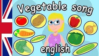 Vegetable Song For Kids English | Learn Vegetables | Nursery Rhymes & Kids Songs in English