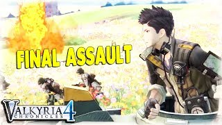 FINAL ASSAULT on ULTIMATE DEFENSE LINE | Valkyria Chronicles 4  Gameplay