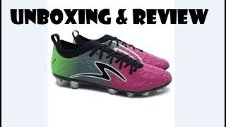 [Football] Sepokat bola Specs Swervo Inertia FG [Unboxing dan Review sepatu orang]