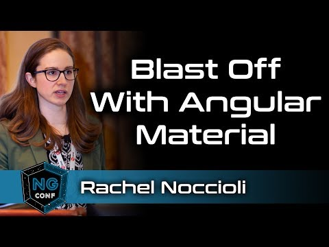 Blast Off with Angular Material | Rachel Noccioli thumbnail