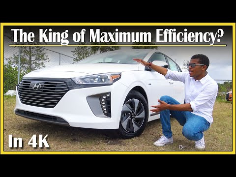 2017 Hyundai Ioniq Hybrid SEL Review | Most Fuel Efficient Car! | In-Depth & DETAILED | In 4k UHD!