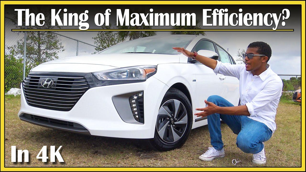 2017 2019 Hyundai Ioniq Hybrid Review Most Fuel Efficient Car In Depth Detailed 4k Uhd