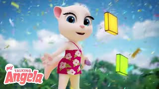 Download Lagu ☀️ Summer Beach Party 🏖️ NEW UPDATE in My Talking Angela mp3