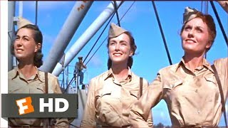 Mister Roberts (1955) - Beautiful Visitors Scene (5/10)   Movieclips