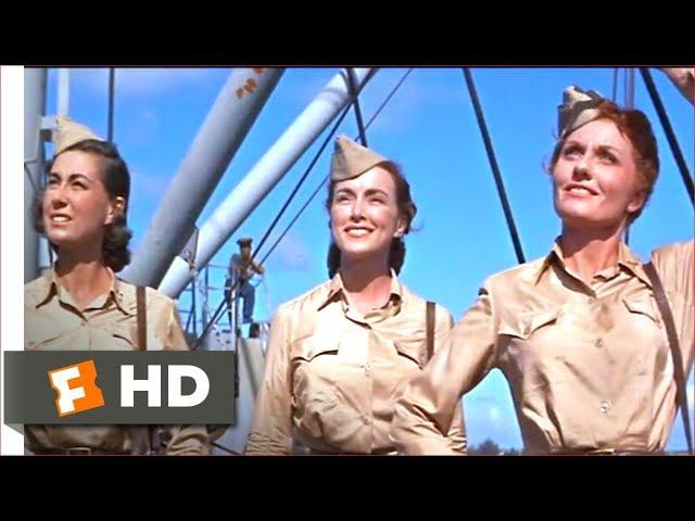Mister Roberts (1955) - Beautiful Visitors Scene (5/10) | Movieclips