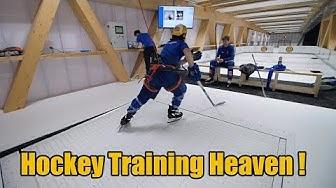 Hockey Training Heaven is here! HC Davos Glice Hockey Elite Center