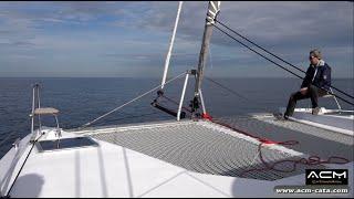 Stage formation ACM sur catamaran Nautitech Open 40 - Etape 2 - Cascais (Lisbonne) - Cartagena