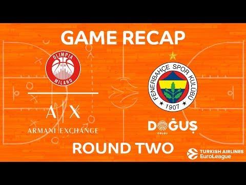 Highlights: AX Armani Exchange Olimpia Milan - Fenerbahce Dogus Istanbul