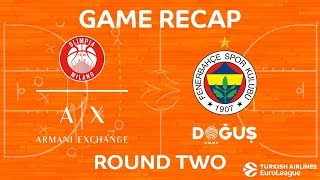 Highlights: AX Armani Exchange Olimpia Milan - Fenerbahce Dogus Istanbul