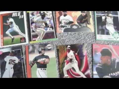 Barry Bonds Baseball Cards