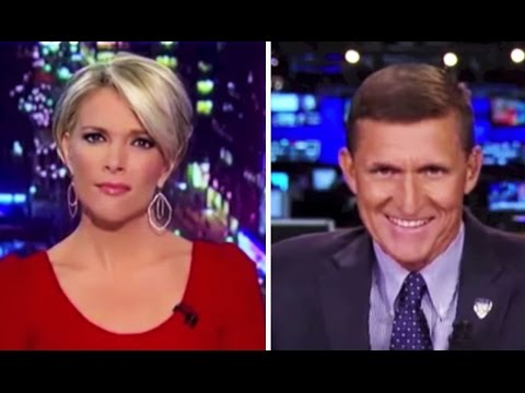 Fox News: Megyn Kelly Has Gen. Mike Flynn On & He Comes Across as TOTALLY CRAZY