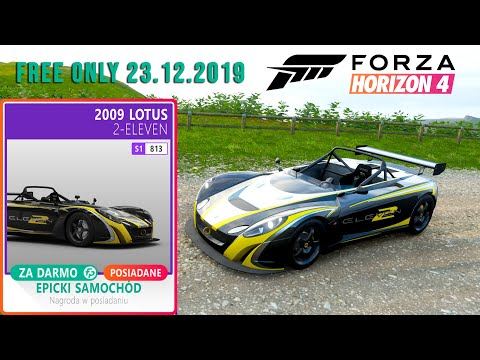 Forza Horizon 4 - Free Lotus 2-Eleven 23.12.2019