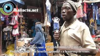 Préparatifs de la fête : Les affaires tournent au ralenti chez les vendeurs ambulants de chaussures