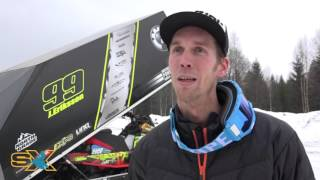Johan Eriksson vinnare av Stock SM 1