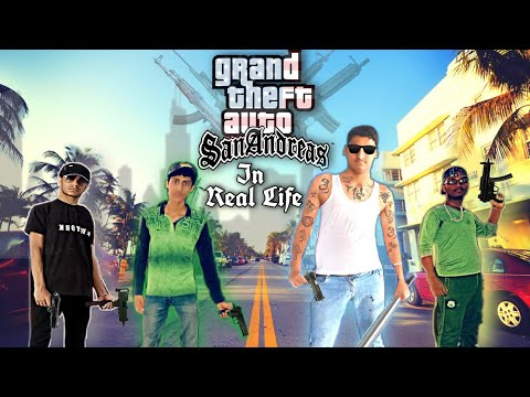 GTA San Andreas In Real Life, Mission 1 Ryder, Sweet & Big Smoke