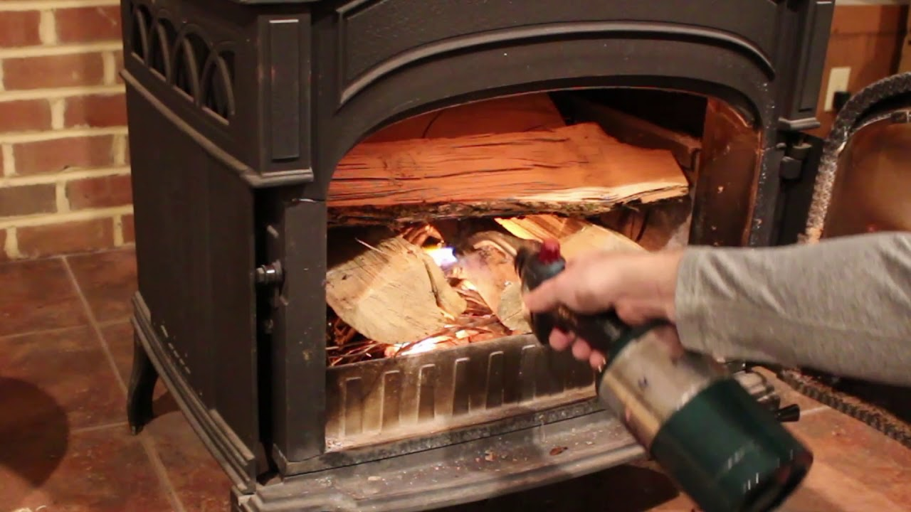 Quickest Way To Light Your Wood Stove No Fire Starters Or Super Cedars Needed