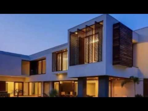 contemporary house design with amazing shape as exploration in