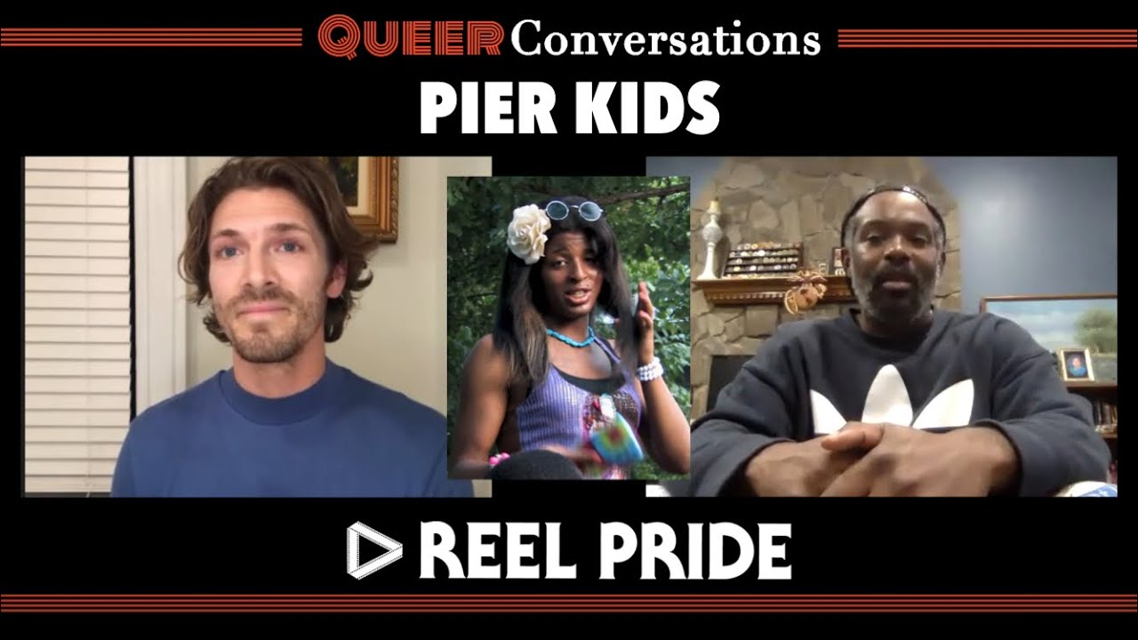 Pier Kids Doc Q&A with Elegance Bratton | Queer Conversations with the Reel Pride Film Festival