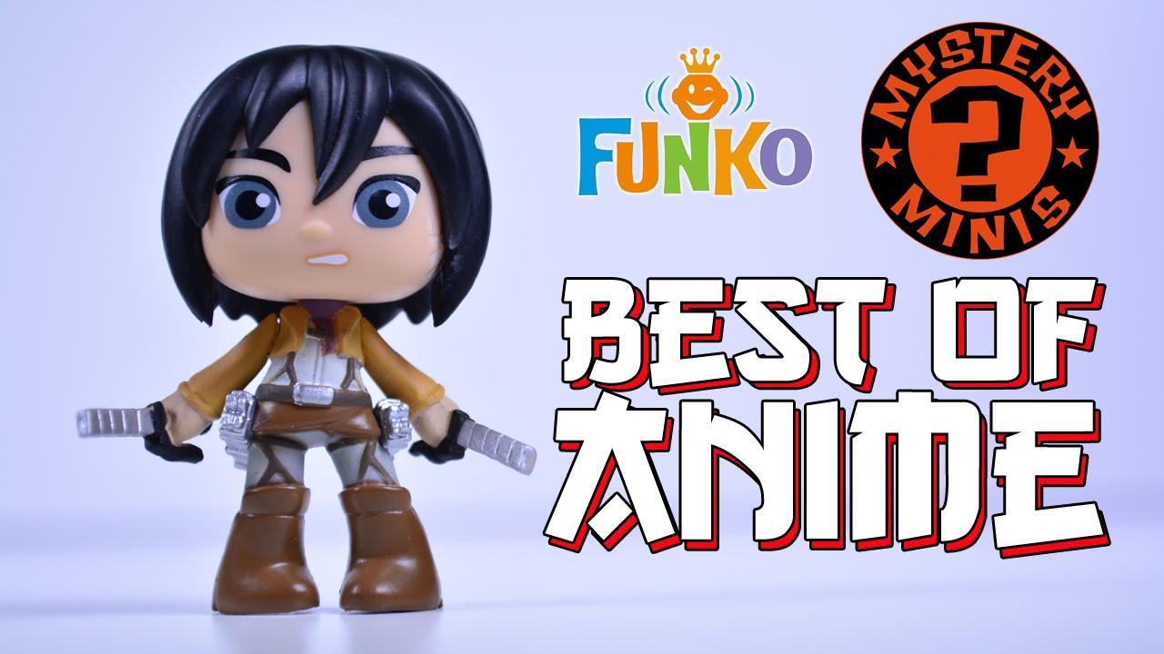 Funko Mystery Minis: Best of Anime - Series 1 [4 Blind ...
