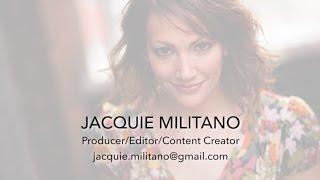 Jacquie Militano - CafeMedia Producer/Editor/Content Creator Reel