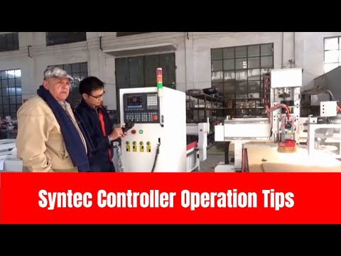 Useful Tips for CNC Router Machine Syntec Controller Operation | Omni CNC