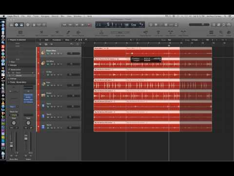 Logic Pro X - Video Tutorial 14 - Using Groups for Editing