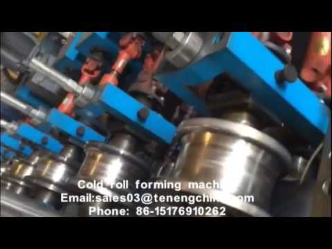 C/Z/L/U steel lip channel Cold roll forming and punching machine