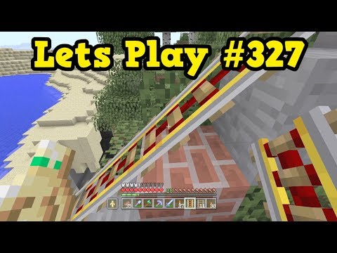 Minecraft Xbox Let's Play #327 - Crazy 5AM Rails