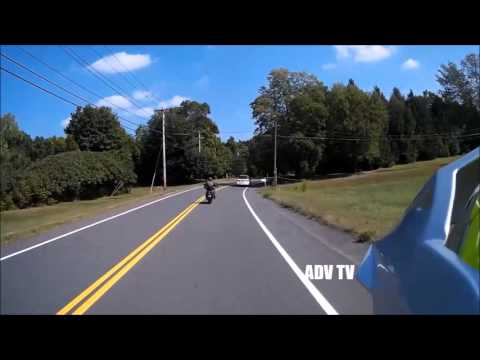Motorcycle Ride Amherst to Springfield, Massachusetts