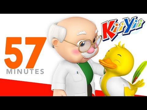 Old MacDonald Had A Farm | Plus Lots More Nursery Rhymes | 57 Minutes Compilation from KiiYii!