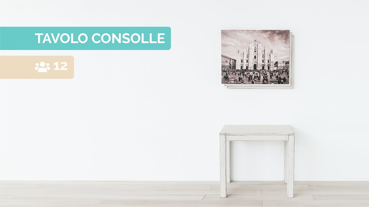 Lg Lesmo Consolle.Tavolo Consolle 12 Posti Shabby Lg Lesmo Outlet