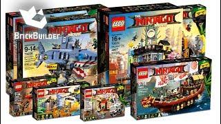 COMPILATION ALL LEGO Ninjago Movie 2017 - Speed Build