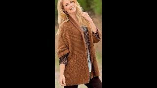 Кардиган, Свитер Спицами для милых дам - 2019 / Cardigan Sweater Knitting