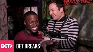 Kevin Hart Gets Scared Silly On Fallon