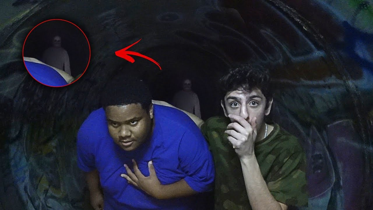 We Got Attacked And Chased Out Of The Haunted Tunnel Holy Sh T Faze Rug Youtube