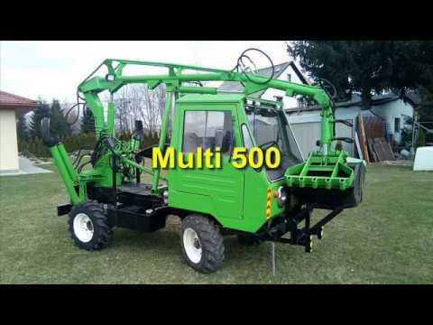 Multicar M25 + UNHZ 500 = Výroba MULTI 500