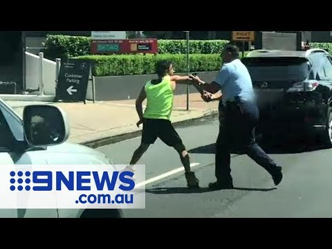 Dramatic Arrest Of 'drunk' Truckie | Nine News Australia