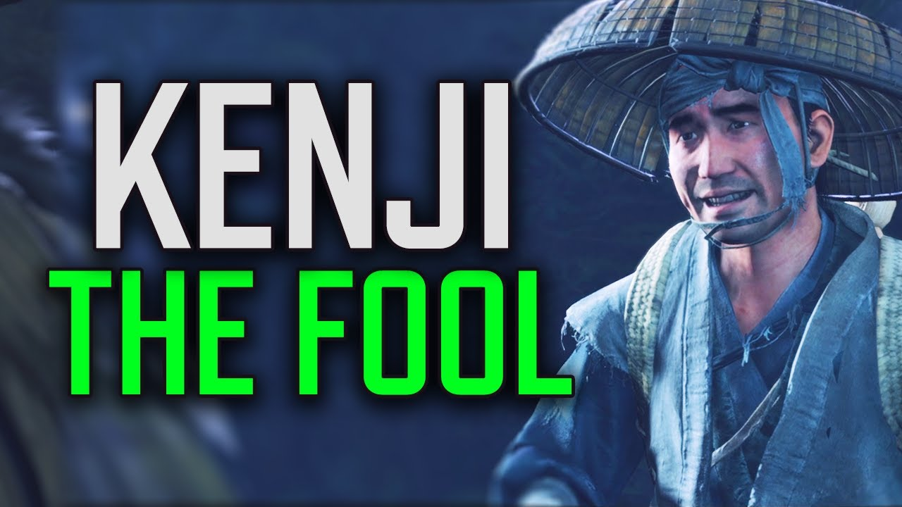 Ghost of Tsushima - Kenji the Fool Redeems Himself // Complete Tale + All Scenes