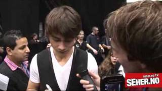 Alexander Rybak after MGP 2010 Norway  Александр Рыбак
