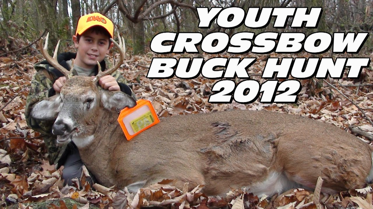 2012 Youth Crossbow Deer Hunt Buck Kill