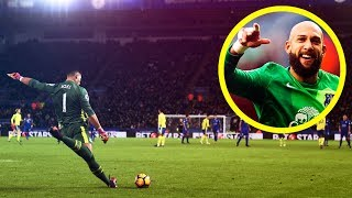 Top 20 CRAZY Long-Range Goals by Goalkeepers • HD