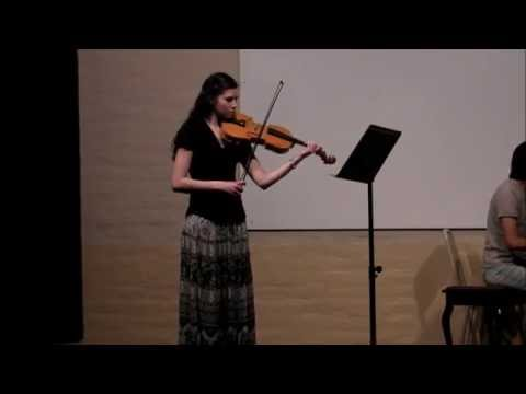 Student Concerto No.2 for Viola and Piano - Friederich Seitz.  Vera Seyda